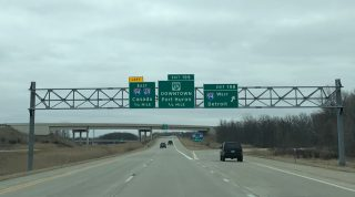 I-69 east at I-94 - Port Huron, MI