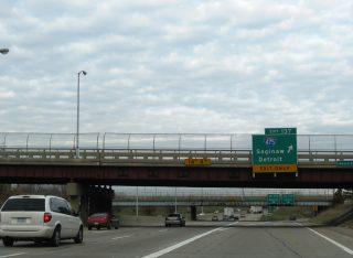 I-69 east at I-475 - Flint, MI