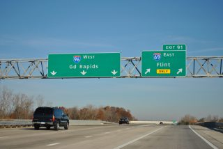 I-69/96 north split - Watertown Twp, MI