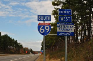 I-69 south - Western Kentucky Parkway