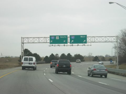 I-69 south at I-465 - Indianapolis, IN