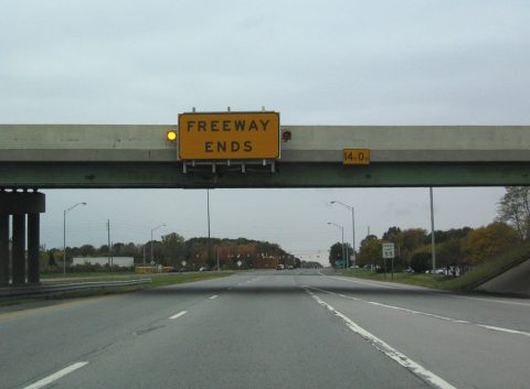 I-69 south at Binford Boulevard - Indianapolis, IN