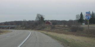 I-69 west at I-96 - Watertown Twp, MI