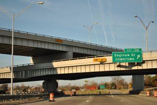 I-69 west at I-475 - Flint, MI
