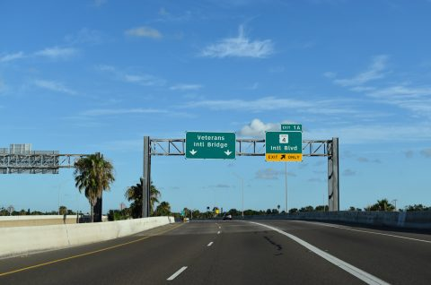 IH 69E/US 77-83 south at SH 4 - Brownsville, TX