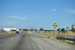 IH 69W/US 59 south at World Trade Br - Laredo, TX