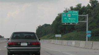 I-465 north at I-69 - 2002