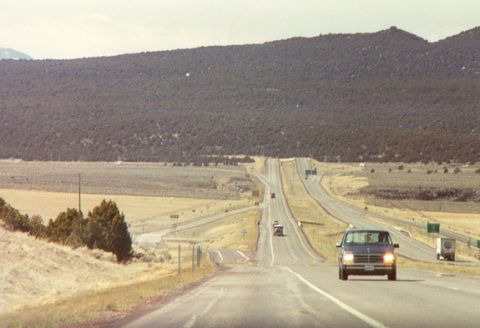 I-70 at SR 161 - Cove Fort, UT - 1990