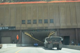 I-70 east - Eisenhower Tunnel, CO