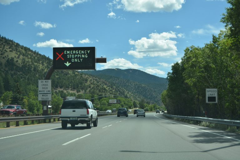 I-70 Mountain Express Lanes - Colorado
