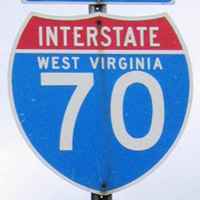 Interstate 70 West Virginia