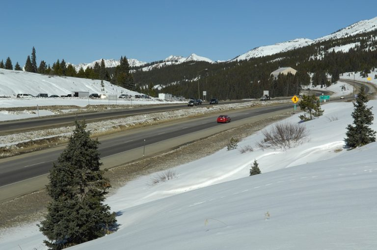 I-70 west - Vail Pass, CO