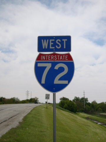 I-72 west of Church St - Champaign, IL