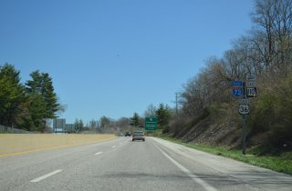 I-72/US 36/Route 110 east at Route 79 - Hannibal, MO