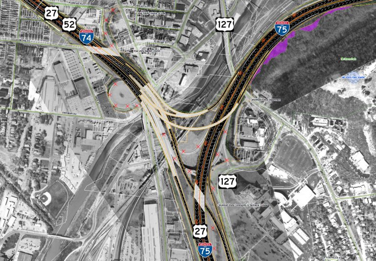I-74/75 Interchange Design - Cincinnati, OH