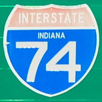 Interstate 74 Indiana
