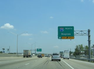 SR 826 north at I-75 - Hialeah, FL