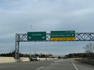 I-75 north at Easterday Av - Sault Ste. Marie, MI