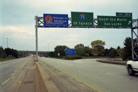 I-75 south at Easterday Av - Sault Ste. Marie, MI