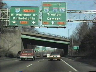NJ Route 42 north at I-76/295 - 1995