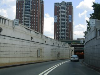 I-78 east at Holland Tunnel