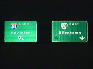 I-81 north at I-78 - 1994