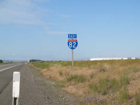 I-82 east after Power Line Rd - Hermiston, OR