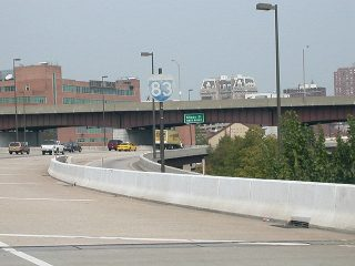 I-83 north at Chase St - Baltimore, MD