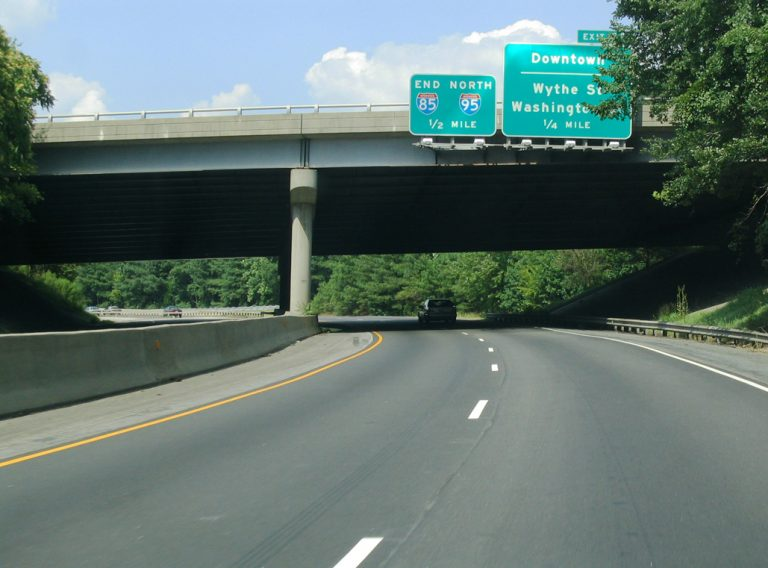I-85/US 460 north at I-95 - 2004