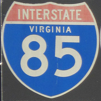 Interstate 85 Virginia