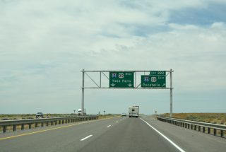I-84 west at I-86/US 30 - Cassia County, ID