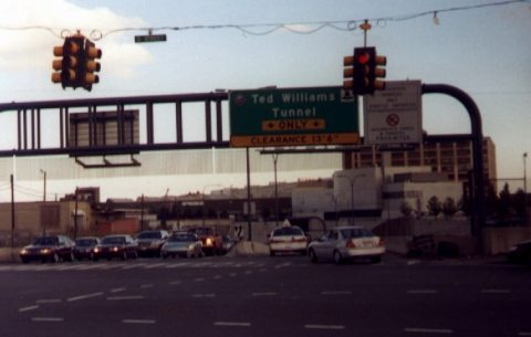 D Street at Ted Williams Tunnel