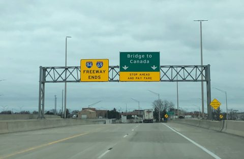 I-94/69 east at Bluewater Br - Port Huron, MI