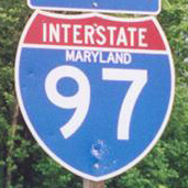 Interstate 97 Maryland
