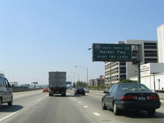 I-10 west at I-110/SR 100 - 2004