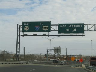 IH 110 north at San Antonio St - 2006