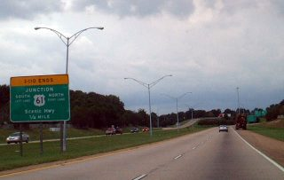 I-110 north at US 61 - 2002