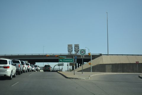 IH 110 north at US 62 - El Paso, TX