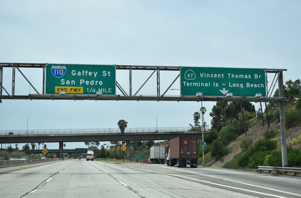 Interstate 110 California - Interstate-Guide com