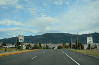 I-115 east at Iron St - Butte, MT