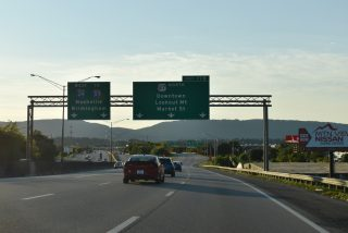I-24 west at I-124/US 27 - Chattanooga, TN