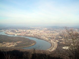 I-124 from Lookout Mountain