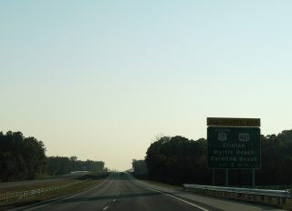 I-140 west at US 421 - 2006