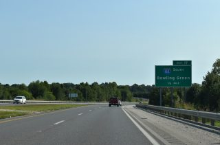 US 60/231 west at I-165 - Owensboro, KY