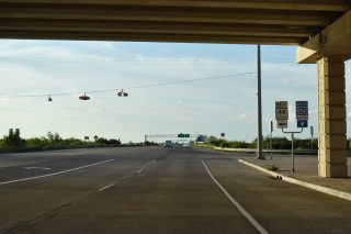 SH 550 north at SH 48 - Brownsville, TX