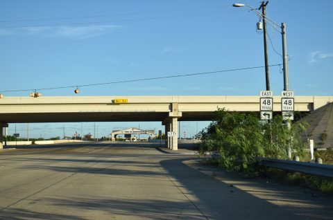 SH 550 south at SH 48 - Brownsville, TX