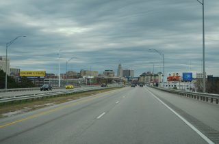 I-180/US 34 south at N 9th St - Lincoln, NE