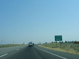 I-182/US 12 east at Lewis St - Pasco, WA