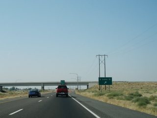 US 12 west at I-182 - Pasco, WA