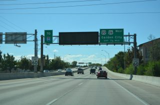 US 20/26 west at I-184 - Boise, ID